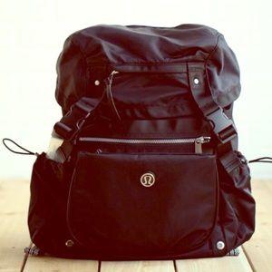 RARE Lululemon Traveling Yogini Backpack